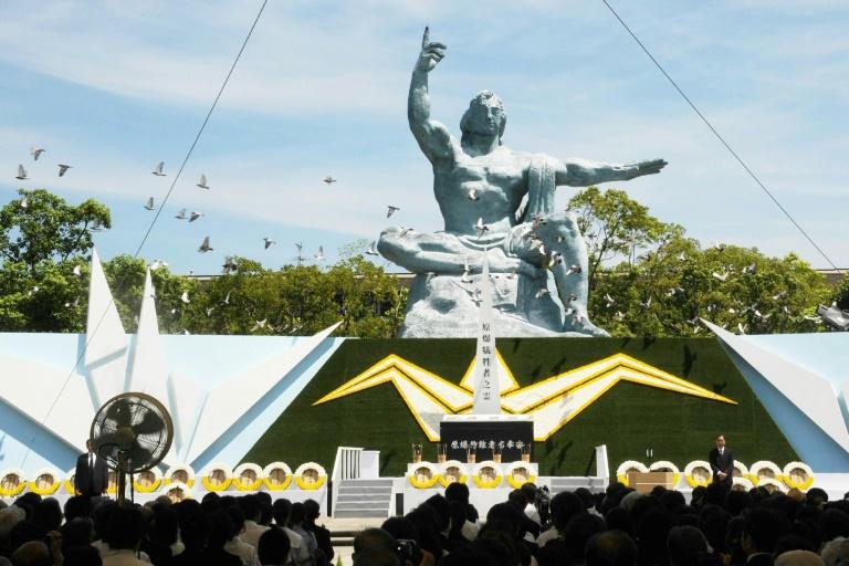 A Nagasaki, le patron de l'ONU souligne l'urgence de la dénucléarisation
