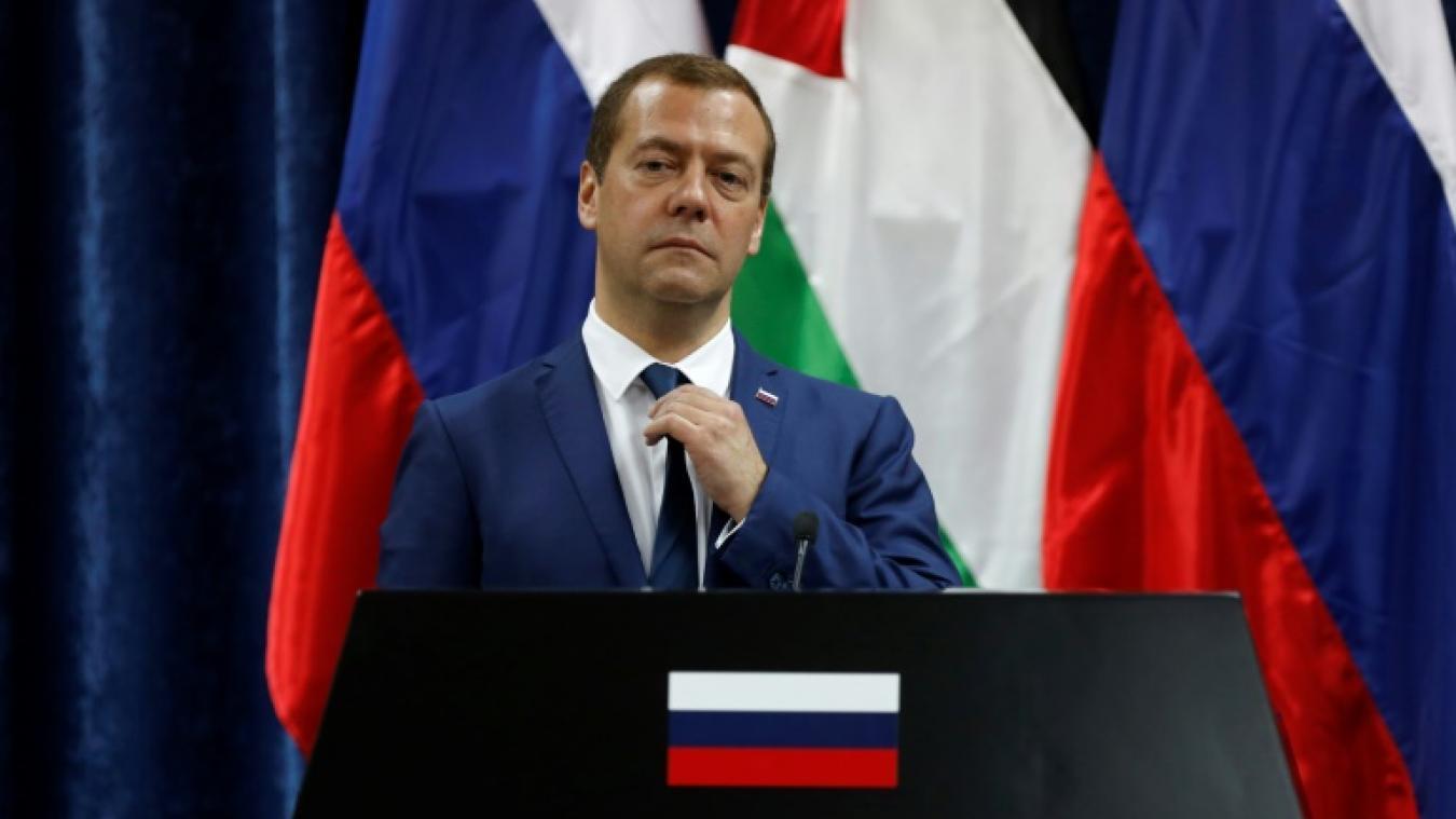 """Medvedev: de nouvelles sanctions américaines constitueraient une """"déclaration de guerre économique"""""""