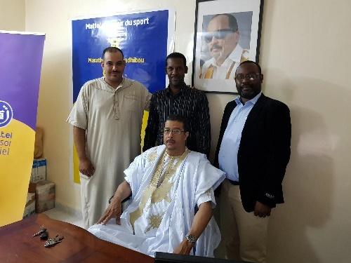 Le Marathon International de Nouadhibou soutient un candidat