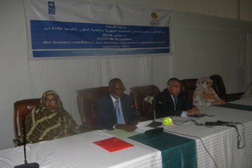 Formation des femmes candidates aux élections régionales et municipales