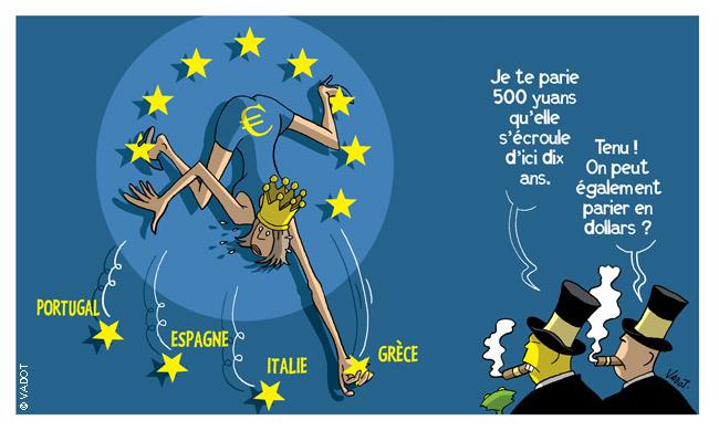 Zone euro: après le cauchemar grec, de nouveaux tourments