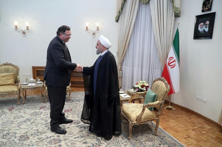 Energie: le Français Total s'est officiellement désengagé d'Iran (Téhéran)