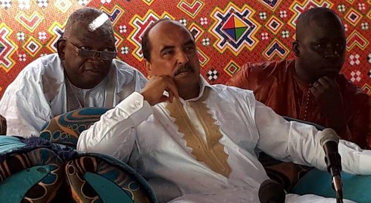 Le président Aziz : « une majorité au parlement garantira la poursuite de l'œuvre de construction »