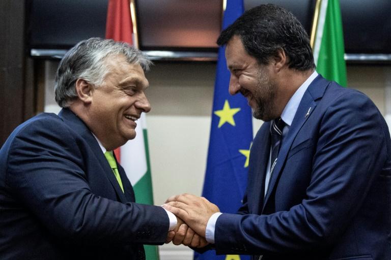Salvini rencontre Orban, inquiétudes sur un changement de cap de l'Italie