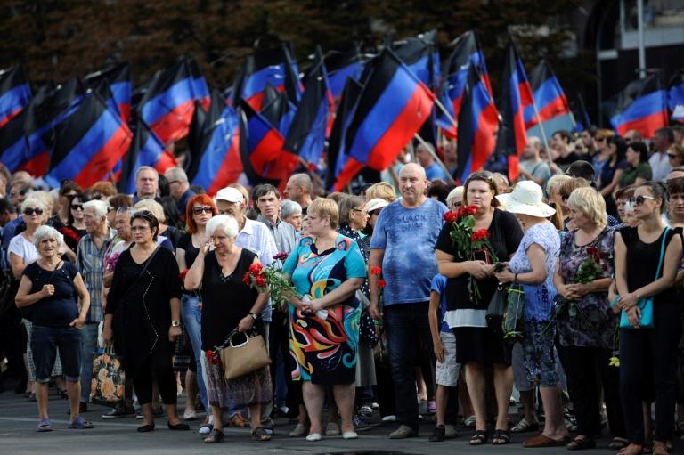 """Donestk rend hommage à son """"président"""" assassiné"""