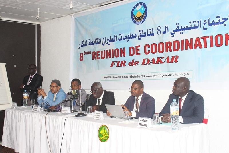 Réunion de coordination des responsables de la gestion des espaces aériens de l'ASECNA