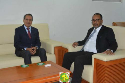 Séance de travail mauritano-marocaine pour développer la coopération entre les hommes d'affaires des deux pays