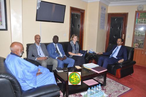 Le ministre des affaires islamiques reçoit une mission de l'OIM