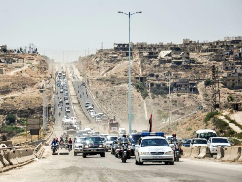 Un poste-frontière clé avec la Jordanie ouvrira en octobre, selon Damas