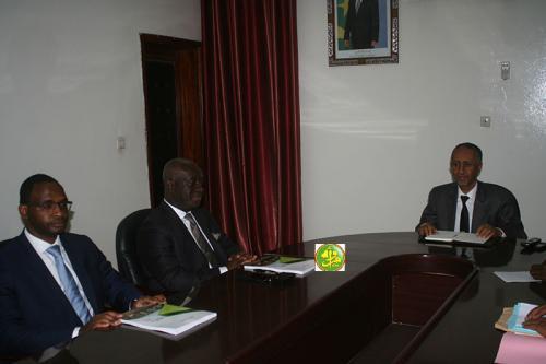 Le ministre chargé du Budget reçoit le président exécutif du Fonds africain de garantie