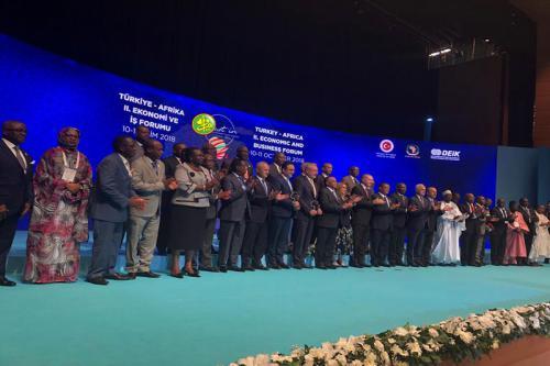 La Mauritanie participe aux travaux du Forum économique et commercial afro-turc
