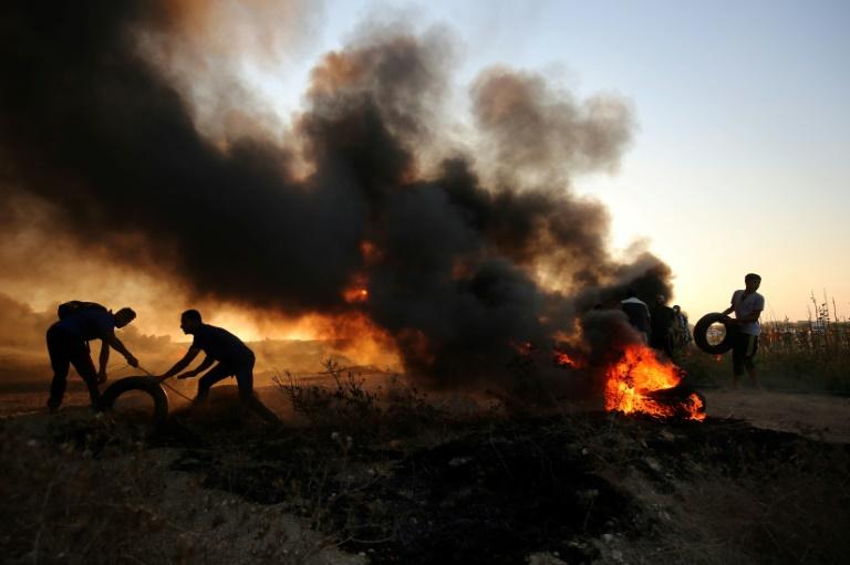 Gaza: sept Palestiniens tués, Israël ordonne l'arrêt des livraisons de fioul
