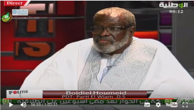Préparatifs d'El Wiam de Boidiel pour fusionner avec le parti au pouvoir