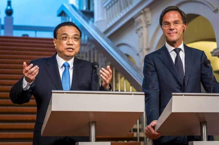 """Commerce: la Chine appelle à l'union pour """"protéger"""" le libre-échange"""