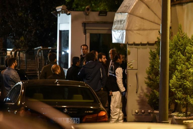 Affaire Khashoggi : la police turque fouille le consulat saoudien à Istanbul