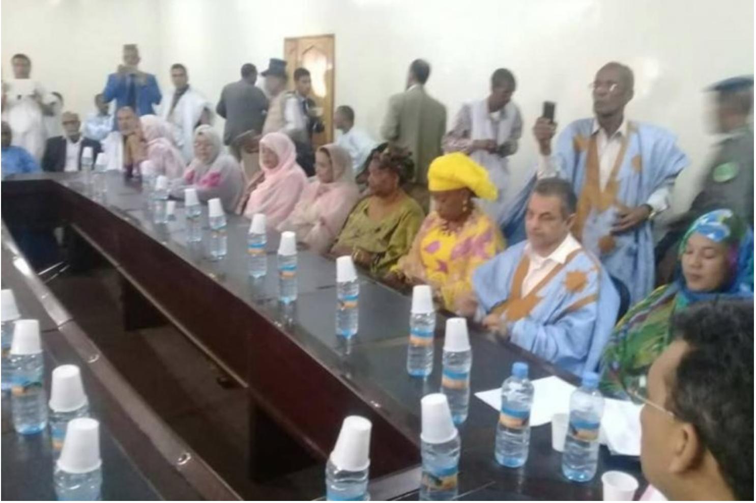 Investiture de Ghassem Bellali, « La Mauritanie D'Abord » était là !