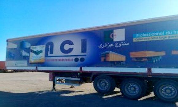 Foire des produits algériens : arrivée des camions à Nouakchott