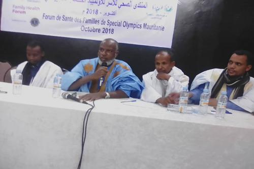"""Organisation d'un forum de santé des familles """"Spécial Olympics Mauritania"""""""
