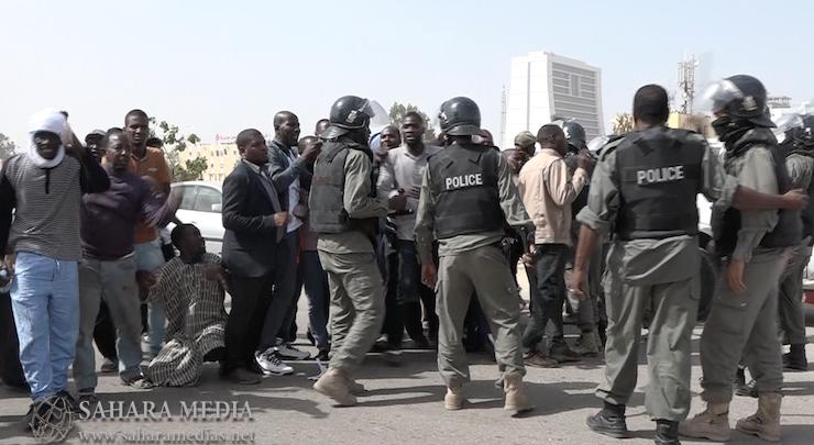 Mauritanie : la police disperse une manifestation des militants du mouvement IRA