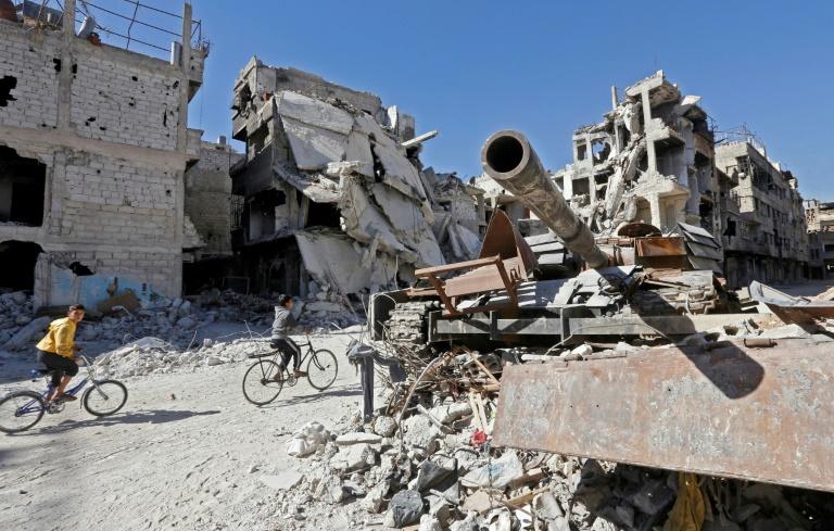 """Syrie: après le """"cauchemar"""", les Palestiniens de Yarmouk gardent l'espoir d'une reconstruction"""
