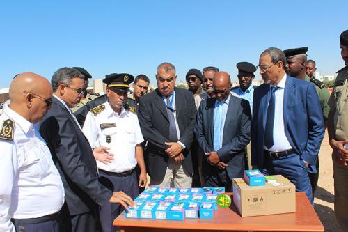 La Mauritanie reçoit du matériel de sécurité don du PNUD