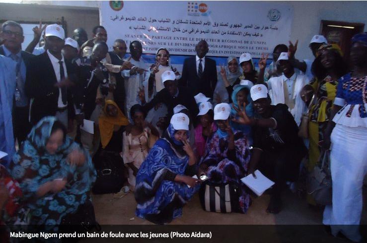 Mabingué Ngom, entre séances de travail et bain de jouvence à Nouakchott