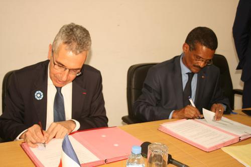Signature d'une convention de subvention en appui au projet AILARA