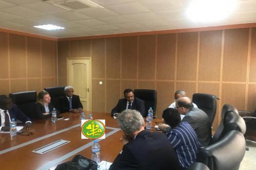 Le Président du Patronat Mauritanien reçoit en audience une délégation de la BAD