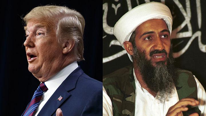 """Pour Trump, Ben Laden aurait dû être capturé """"bien plus tôt"""""""