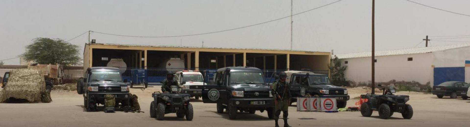 Les unités GARSI à l'honneur pour le jour de l'Indépendance en Mauritanie