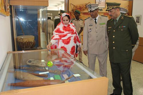 Le Commandant de la gendarmerie algérienne visite le Port autonome de Nouakchott et le Musée national