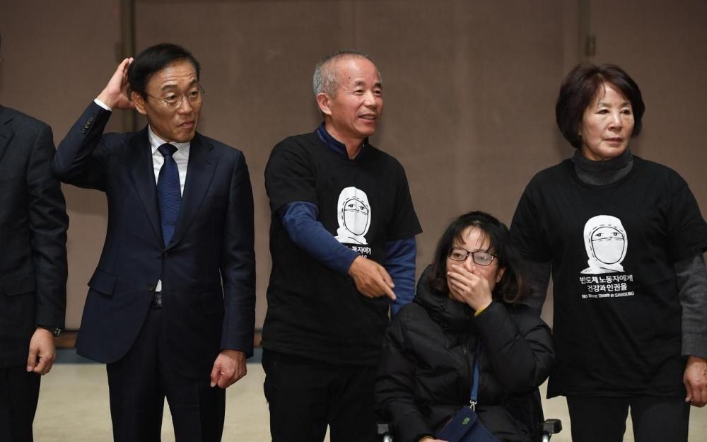 Cancer d'ouvriers: Samsung Electronics clôt le dossier avec des excuses