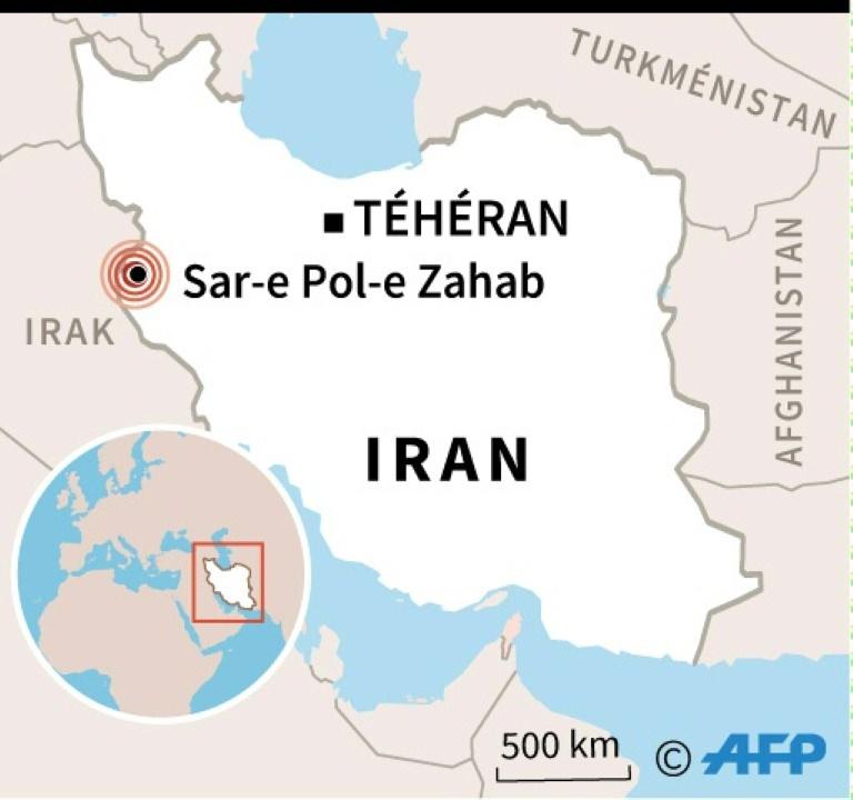 Séisme de magnitude 6,4 dans l'ouest de l'Iran, 210 blessés
