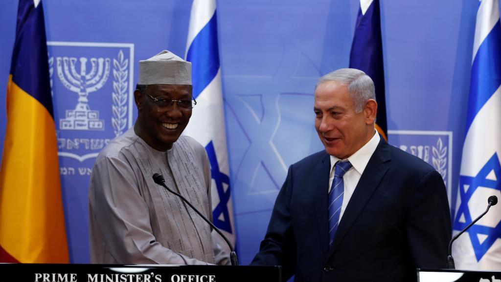 Première visite d'un président tchadien en Israël