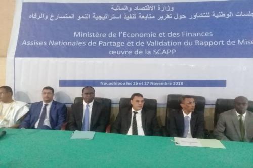 Nouadhibou: Consultations sur le 1er rapport sur la mise en œuvre de la stratégie de croissance accélérée et de bien-être commun