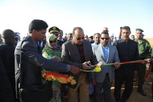 Le Président de la République inaugure à Nbeiguet-Lahwach Une ferme pilote pour la culture de fourrage vert
