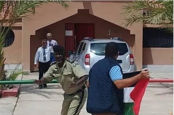 La réaction mauritanienne à la provocation d'un activiste pro-polisario devant le consulat du Maroc Noadhibou