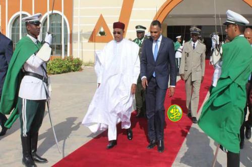 Le président du Niger quitte Nouakchott