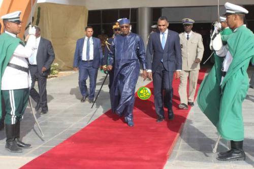 Départ de Nouakchott du président tchadien