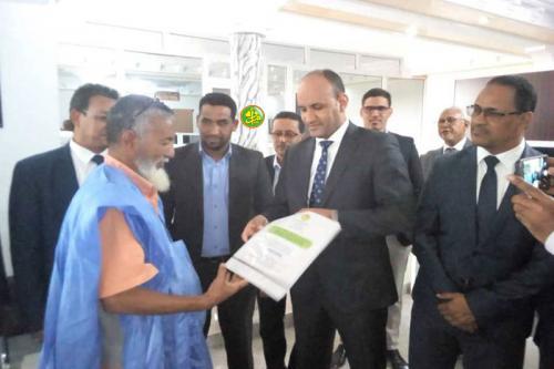 L'Autorité de la Zone Franche de Nouadhibou débute l'émission des titres fonciers