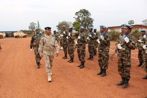 Mauritanie : le chef d'état-major général adjoint des armées en Centrafrique