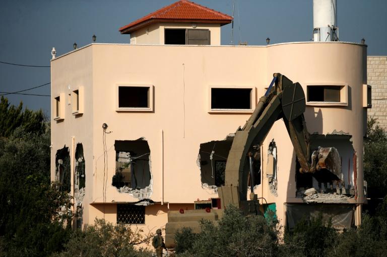 Cisjordanie: démolition du logement d'un Palestinien accusé d'avoir tué deux Israéliens