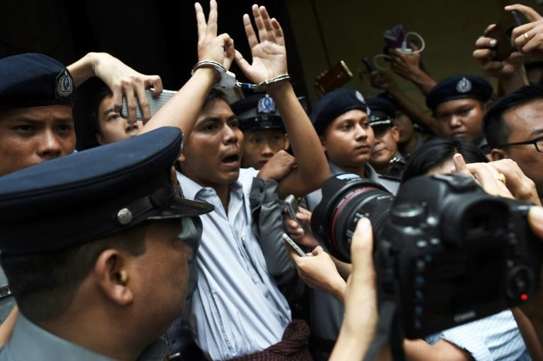 Birmanie: appel pour les journalistes de Reuters emprisonnés