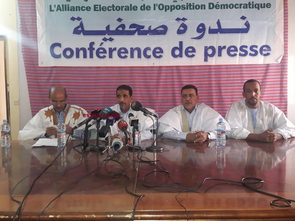 L'opposition accuse Aziz de complot en semant la zizanie