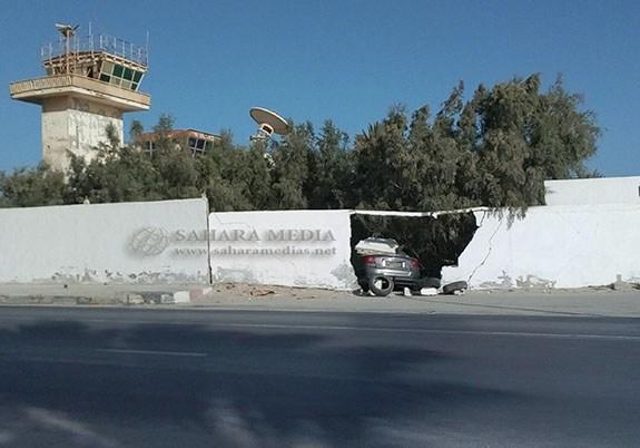 Nouadhibou : la gendarmerie ouvre une enquête après qu'un véhicule ait percuté l'enceinte de l'aéroport