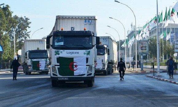 1ère opération d'exportation de produits algériens vers la Mauritanie par voie terrestre