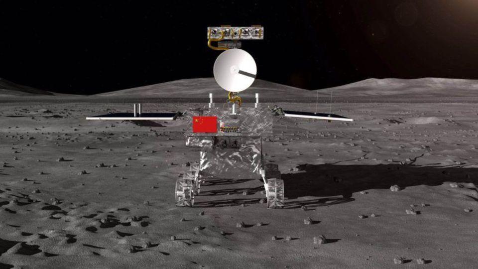 La Chine dépose Chang'e 4 sur la face cachée de la Lune