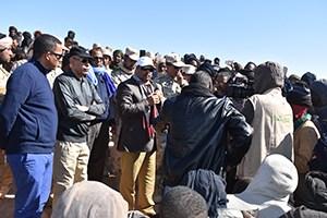 Le président Aziz promet aux orpailleurs des solutions à leurs problèmes