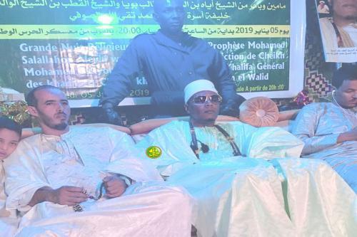Organisation d'une soirée de Medih en hommage au prophète