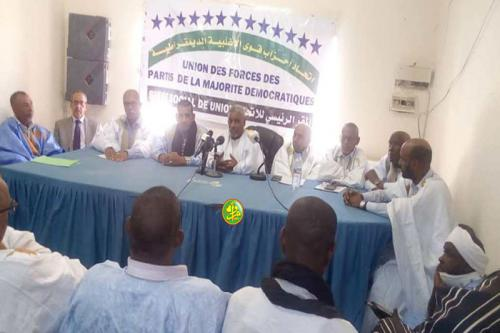 Des forces politiques rallient l'union de partis des forces de la majorité démocratique